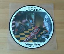 "The J Geils Band Freeze Frame 1981 UK 7"" Picture Disc EAP134 Pop Rock A1 B1"