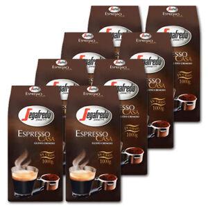 8 KG Segafredo Espresso Casa Kaffeebohnen, Preis ist inklusive Kaffeesteuer