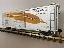 Accucraft / AML G401-16X :: PS-1 Western Pacific 8' Youngstown Door Boxcar 19510