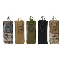 Outdoor Tactical Military Molle Airsoft Radio Talkie Waist Belt Pouch Bag WA