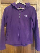 North Face Womens Purple Fleece Medium