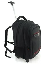 Executive Business Laptop Trolley Wheeled Hand Luggage Briefcase Office Backpack