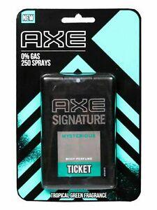 AXE Signature MYSTEROIUS Ticket Perfume - 17 ml | Topical green fragrance