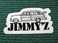 jimmy z woody wagon surfboard surfing sticker decal longboard surfer 1980s ford