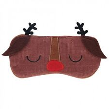 Paperchase Novelty Reindeer Eye Mask *Gift Idea* NEW