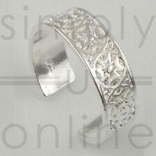 De Ring van de teen van 925 Sterling Zilver - Maltezer Kruis