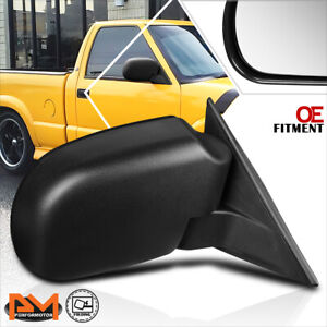 For 98-04 Chevy S10/GMC Sonoma OE Style Manual Rear View Side Door Mirror Right