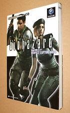 Residente Evil Biohazard gc japonés Guide solución libro 21x15cm/223 páginas