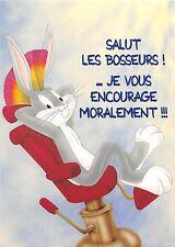 BF40841 bucks bunny salut les bosseurs cartoon  movie star