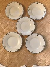 Five (5)  Gorham Ariana  Town & Country    Saucers   Fine China Collection