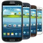 Samsung Galaxy S3 16GB Black White Blue Red Multiple Carrier Smartphones
