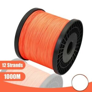 Braided Line 12 Strands 1000M Braided Fishing Line Super Strong Japan
