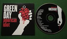 Green Day American Idiot inc Boulevard Of Broken Dreams / Holiday + CD
