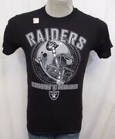 Oakland Raiders Men's Small 2012 Schedule Graphic T-Shirt NFL Black A14