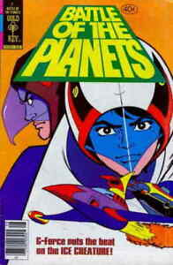 Battle of the Planets #2 VG; Gold Key   low grade comic - save on shipping - det