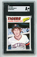 1977 Topps Mark Fidrych Rookie Card Blank Back Proof #265. SGC Authentic