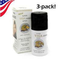 3X SUPER VIGA 240000 Mens Last Long Premature Stamina Performance Delay Spray