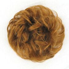 chouchou chignon cheveux blond cuivré ref: 17 27