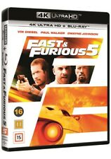 Fast and Furious 5 4K UHD + Blu Ray