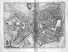 1625 - Arras Nord-Pas-de-Calais gravure estampe