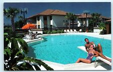 *1980s Marco Shores Resorts Pool Diving Board Marco Island Florida Postcard B43