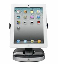 STORE DISPLAY Logitech Speaker Stand with Charging Station for iPad Free S/H