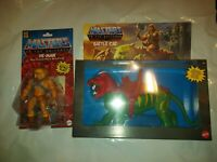 Combo Lot Masters Of The Universe Origins - Battle Cat And He-Man Lot New 2020