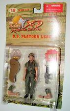 1:18 Ultimate Soldier Vietnam U.S Army Infantry Squad Sgt Platoon Leader Figure