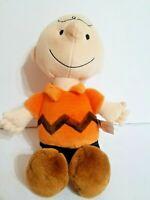 "Kohls Cares Charlie Brown Peanuts Plush 13"" Stuffed Toy"