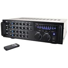 PYLE PRO PMXAKB1000 1000-Watt Bluetooth(R) Stereo Mixer Karaoke Amp