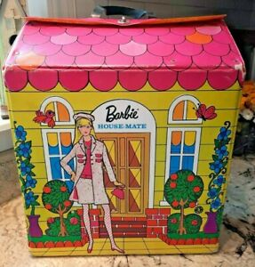 1966 Sears Barbie's house-mate 5091 Dollhouse Case Mattel Vintage RARE