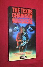 The Texas Chainsaw Massacre VHS RARE HORROR GORE CULT VIDEO TREASURES