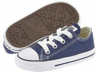 New Converse Chuck Taylor All Star OX Navy White Toddler Boy Girl Size 2-10