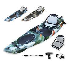 3.6M BLACKHAWK PELICAN Adjustable Hard Seat Fishing Rudder Kayak Paddle Package