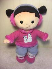 "Boo Plush Disney Store Doll Monsters University Inc Stuffed Toy 16"" Pink Snowman"