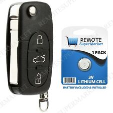 Replacement for Volkswagen VW 98-01 Beetle 01-02 Cabrio Remote Car Key Entry Fob