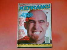 ANTHRAX OZZY OSBOURNE NIRVANA Kerrang! Mag 11/1/92 Lita Ford Cheap Trick