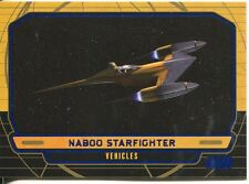 Star Wars Galactic Files Blue Parallel #245 Naboo Starfighter