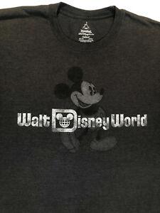 Walt Disney World Mickey Mouse Grey T Shirt Sz. 3XL