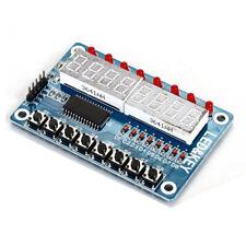 8-Bit Digital LED Tube 8-Bit TM1638 Key Display Module For AVR Arduino T3K7