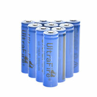 10x 18650 3.7V 3800mAh Li-ion Rechargeable Battery Cell For Torch Flashlight USA