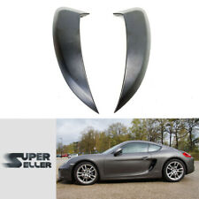 Fit For 2013-2016 Porsche 981 Boxster Cayman Side Air Intakes Ducts Vent Painted