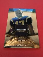 Donnie Avery Rams 2008 Bowman Sterling Large Jersey Rookie Swatch #163 57/309