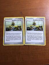 Pokemon CCG Platinum Rising Rivals Sunyshore City Gym - 94/111 - Lot of 2 Cards