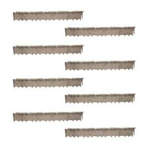 Suncast Quick Edge 35 Inch Single Strip Resin Lawn Edging, Flagstone (8 Pack)