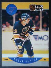NHL 273 Steve Tuttle St. Louis Blues Pro Set 1990/91