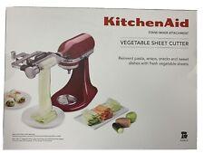 KitchenAid Vegetable Sheet Cutter Stand Mixer Attachment KSMSCA