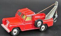 Corgi Toys Land Rover 109 W.B Abschlepper Vintage Modellauto RARITÄT 5B17