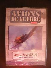 """DVD AVIONS DE GUERRE  """"Messenschmitt B7 109 - L'aigle D'Augsburg""""   Neuf"""