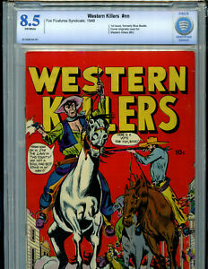 Western Killers #nn CBCS 8.5 VF Fox Features Syndicate 1948  Amricons B2